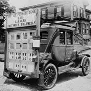 Old Boston truck