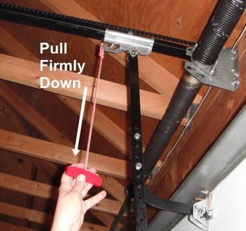 garage door disconnect