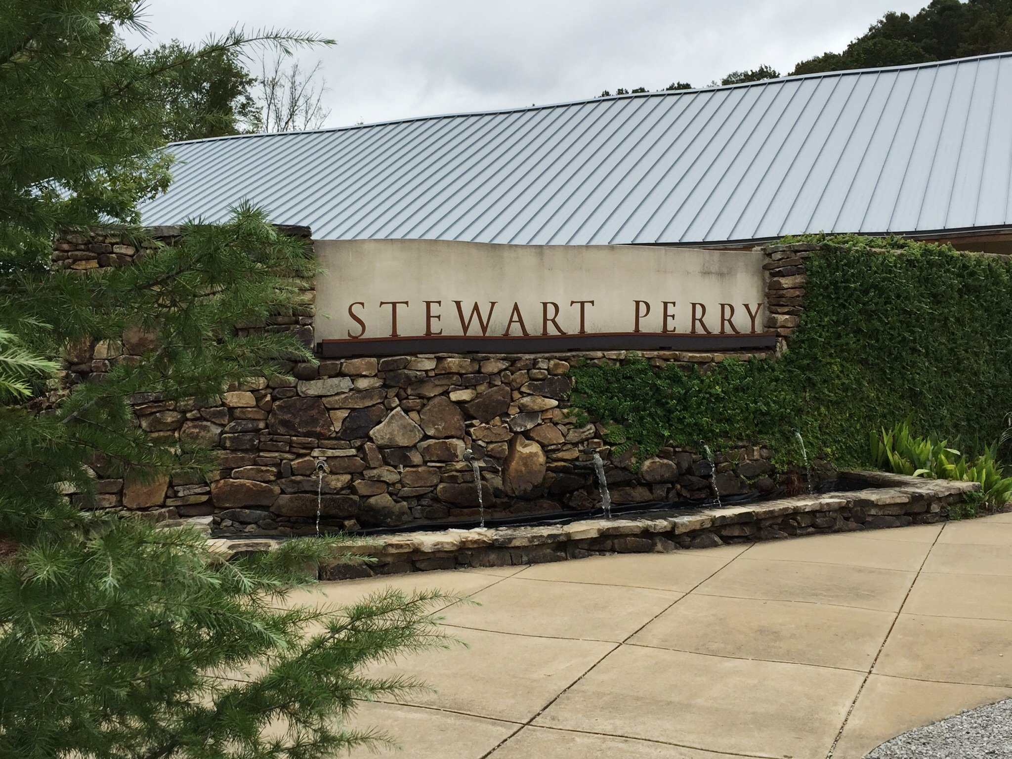 Stewart Perry Construction entrance